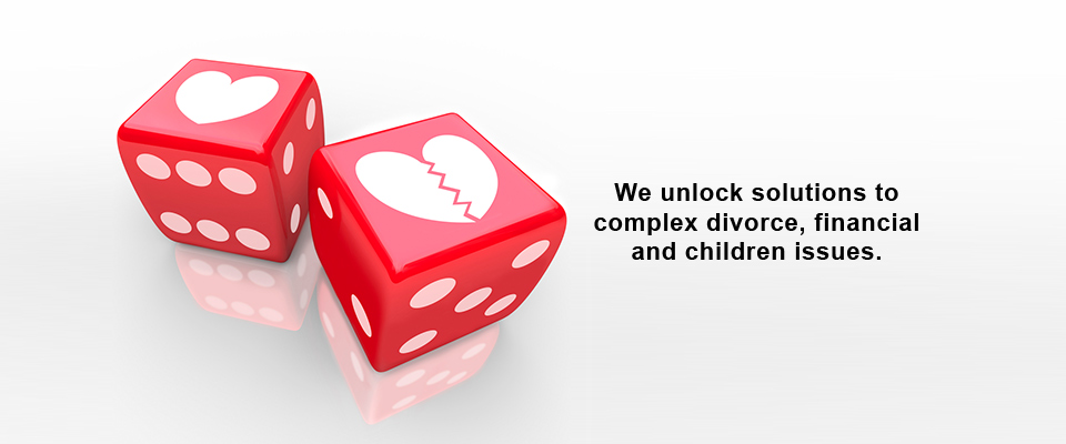 We unlock complex divorce issues